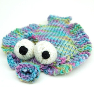 knitted flounder from cheezombie