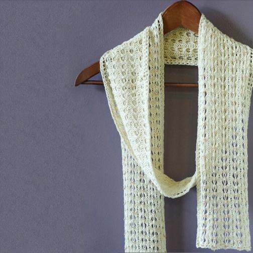 Captive scarf by Barbara Benson