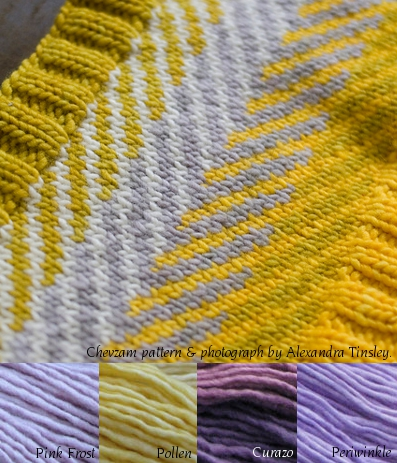 Purples and yellow