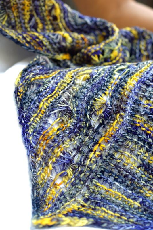Detail shot of Knitting