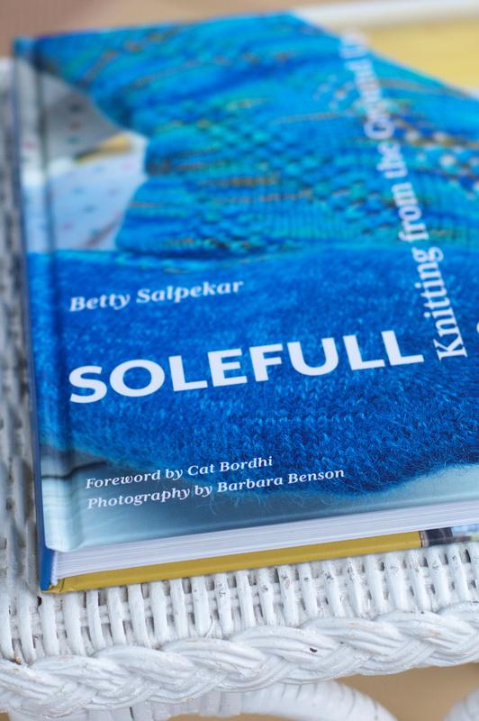 Solefull Socks, hand knit sock book