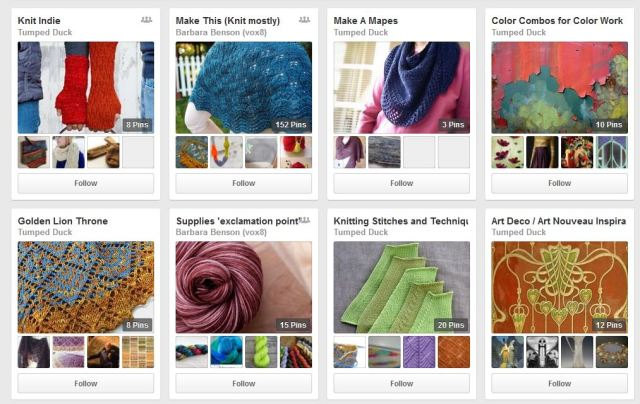 Getting started with boards, Tumped Duck on Pinterest