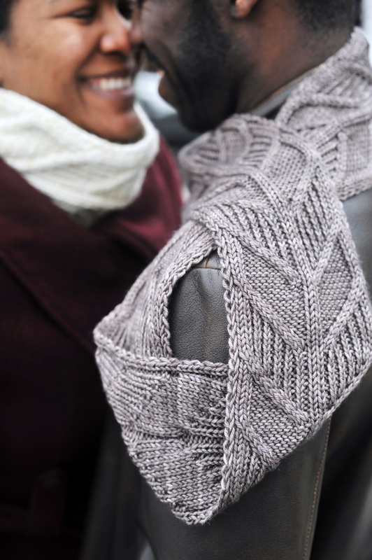 Afreet Cowl by Fatimah Hinds, photographed by Barbara Benson