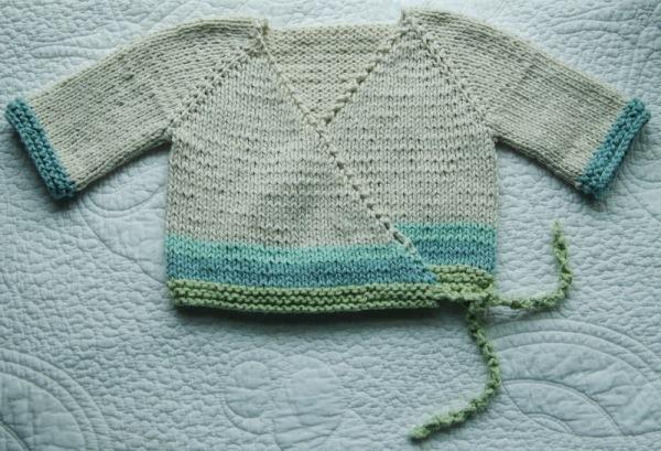 Baby Kimono out of Organic Cotton