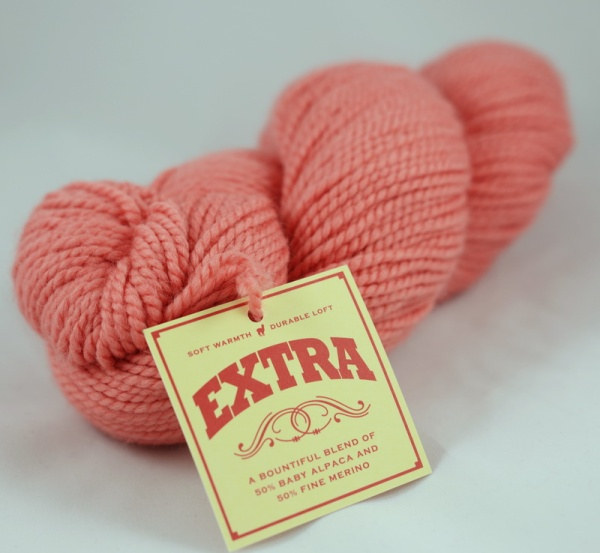 You could win this skein of Blue Sky Alpacas Extra