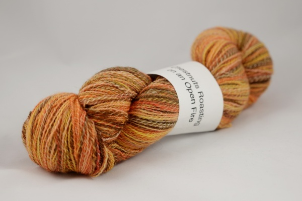 Homespun 100% BFL 2 ply Laceweight